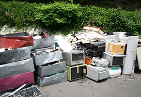 事業ゴミ回収します